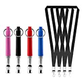 N\A 4 Pcs Adjustable Frequencies Dog Whistle Metal Training Whistle Ultrasonic dog Training Whistle...