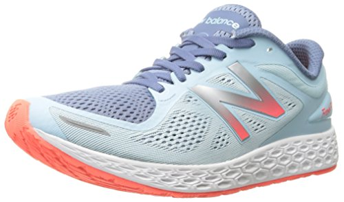 New Balance Women's Fresh Foam ZANTEV2 Run-W, Blue/Orange, 8 B US