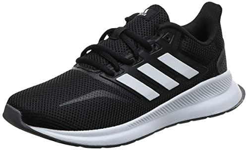Adidas Runfalcon, Zapatillas de Trail Running Mujer, Negro (Negbás/Ftwbla/Gritre 000), 37 1/3 EU