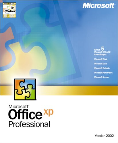 Microsoft Office XP Pro D CD