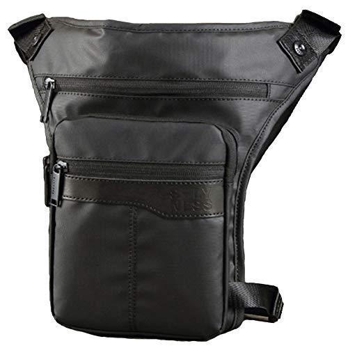 YAOBAO Jambe Polyvalente pour Hommes Sac Militaire Drop Bag Sac de Taille en Plein air, Sac de Taille, Jambe de Taille, Sports de Plein air Voyage Equitation vélo, 1PCS / 0.5Kg