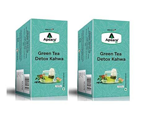 APSARA Detox Kahwa Green Tea Immunity Boosting Properties Antioxidants Properties 72 Tea Bags