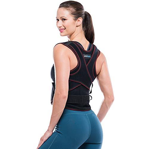 ActivHawks Correcteur De Posture Dos Épaules Avachies - Pour Hommes Et Femmes Lavable et Ajustable Taille (L/XL) -...