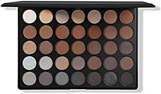 MORPHE Pro 35 Color Eyeshadow Makeup Palette-Koffee Palette 35K-Professional shimmer coffee eyeshadow palette with intense...