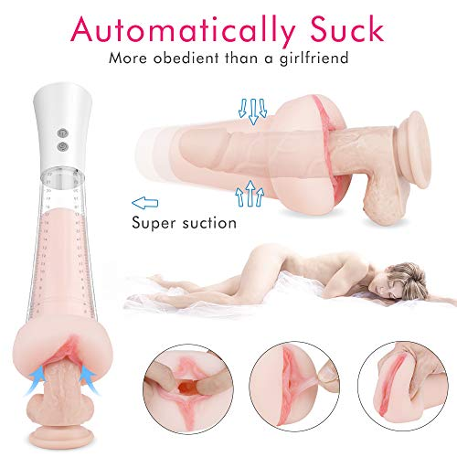 Superior Quality USB Rechargeable Automatic Piston Telescopic Rotation Handsfree 5 Modes 10 Speeds Sleeve Stroker Men Oral S(exy Toy for Male, Electric Sexy Underwear Device for Men Relax Toy