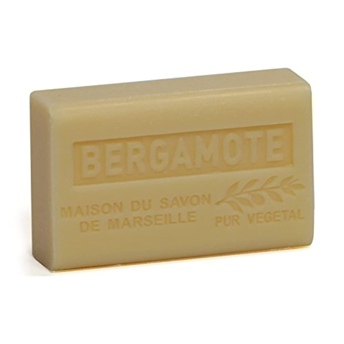 酔って署名促進するSavon de Marseille Soap Bergamot Shea Butter 125g
