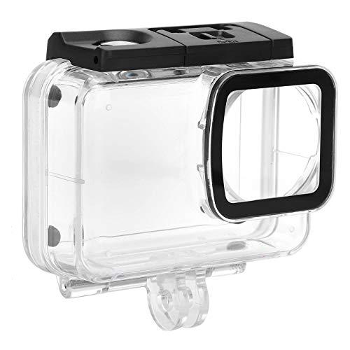 PUSOKEI Carcasa Protectora de cámara para SJAM, cámara de acción acrílica, Carcasa Impermeable para Buceo, cámara Deportiva SJCAM SJ10 Pro, Carcasa de Buceo submarina de 30 m