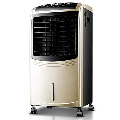 WP 80W Ventilador de Aire Acondicionado Frío - Refrigeradores por Evaporación Caseros Portátiles con Tanque de Agua 3 Velocidades / 6,5 litros/Purificación/Humidificación, 37 * 32 * 78 mm Viento