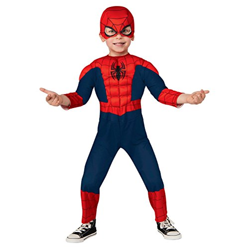 Marvel Ultimate Spider-Man Deluxe Muscled Toddler Costume (3T-4T)