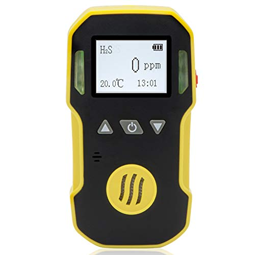 BOSEAN硫化水素測定器 H2S検知器 検出器 H2S漏れ検知 三つのアラームモード IP65 高精度 携帯用 USB充電 日本語 英語切り替え可能