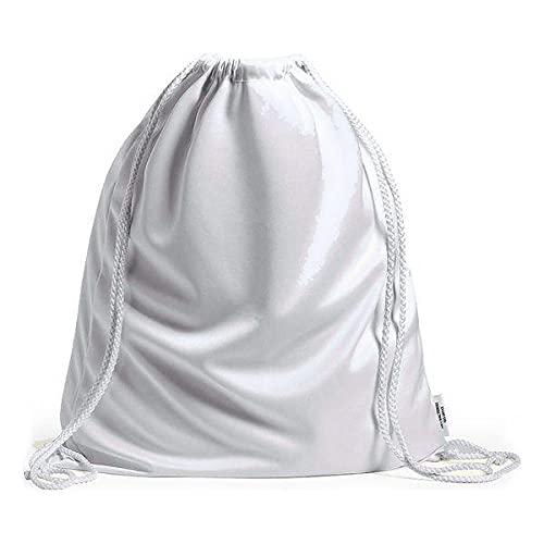 BigBuy Outdoor Bolsa, Materiales Varios, Blanco, Talla única
