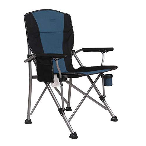 ZSMPY Folding Chair Patio Terrace Comfortable Camping Folding Beach Deck Portable Sofa Armchair Lazy Relaxing ZS (Color : D)