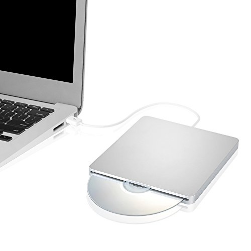 『Patech USB2.0ポータブルCD RWドライブ スロット設計 Apple Mac Book Air Pro/windows 対応』の4枚目の画像