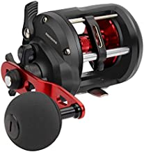 KastKing ReKon Level Wind Trolling/Jigging Fishing Reel,Round Conventional Baitcasting Reels,Size 20,Right Handed