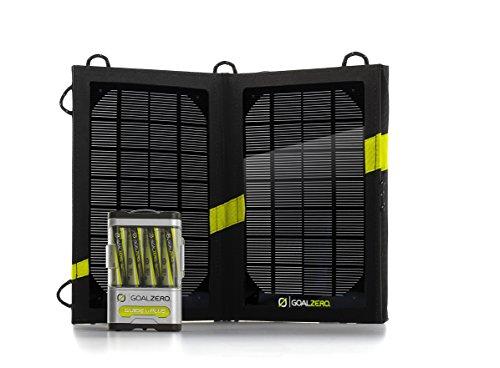 Goal Zero Nomad 7 Guía 10+ - Cargador Solar USB, Color Negro