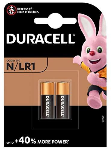 Duracell N LR1 MN9100 Alkaline Batterien Micron Fox, 4 Stück
