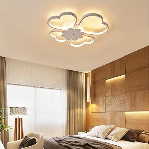 Lámpara de techo Luz Corredor Sala de la lámpara de techo del LED regulable creativo moderno Lámpara de acrílico diseñador dormitorio techo de la habitación de oficina y restaurante iluminación 36W,A