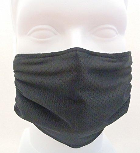 Breathe Healthy Honeycomb Black Mask - Comfortable, Reusable