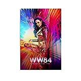 DRAGON VINES Póster de Wonder Woman 1984 para pared (50 x 75 cm)