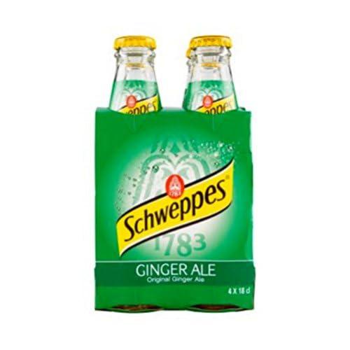 Schweppes Ginger Ale 180ml (Confezione da 24)