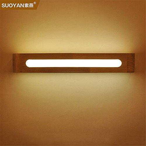 JJZHG wandlamp wandlamp waterdichte wandverlichting LED wandlamp slaapkamer nachttafellamp spiegel schijnwerper spiegelkast lamp creatieve nieuwe (50 cm) bevat: wandlamp