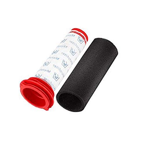 Kbsin212 6/2 unidades de filtro lavable 3/1 Stick + filtro de espuma 3/1 para aspiradoras Bosch BCH6ZOOOO Zoo'o ProAnimal y Bosch Athlet BCH625KTGB BCH6PETGB (alternativa a 00754175, 00754176)