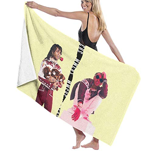 65469longshuo Toalla de baño RAE Sremmurd Music Band Beach Towels Ultra Absorbent Microfiber Bath Towel Picnic Mat for Men Women Kids Hotel Home Ideas Decoration
