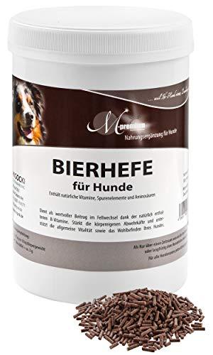 MIGOCKI BIERHEFE – 500 g Nahrungsergänzung für Hunde – Unterstützt EIN glänzendes und kräftiges Fell (Pellets)