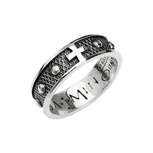 anello uomo gioielli Amen Rosari misura 20 trendy cod. ACR2-20