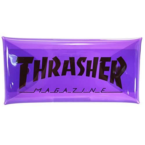 スラッシャー[ペンポーチ]オールマイティクリアケース THRASHER【Purple 】