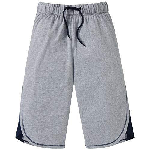 Schiesser Jungen Mix & Relax Longboxer Schlafanzughose, Grau (Grau-Mel. 202), 164 (Herstellergröße: M)