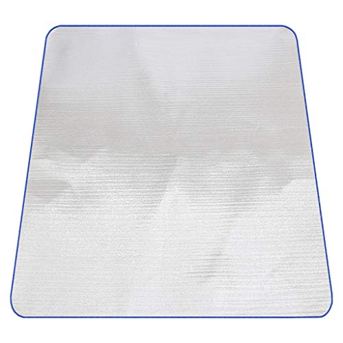 JEOSNDE Manta de Picnic al Aire Libre Impermeable Carpa Plegable portátil Almohada for Dormir Papel de Aluminio Perla Algodón Paño de Picnic Accessorios de Viaje (Size : M)