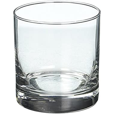 Libbey 4-Piece Heavy Base Old Fashioned Glasses, 11-Ounce, Clear