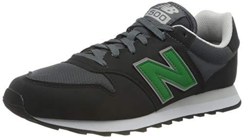 New Balance 500', Zapatillas Hombre, Negro, 40 EU