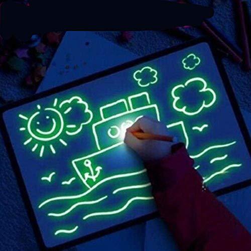 ANNIUP Pizarra Fluorescente Luminosa para Escribir