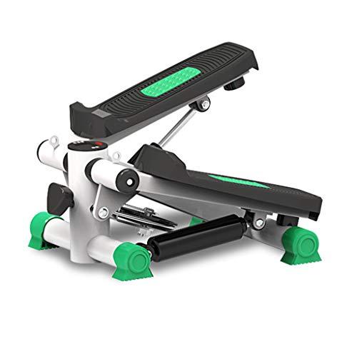 WXX Twister Stepper Step, Maschine Pedale Bandbreiten, Anti-Skid-Pedal, Widerstandsband und LCD-Display, brennende Kalorien als Heimtrainer Fitness