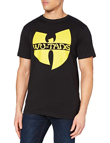 Wu Wear Herren Logo T-Shirt, schwarz, L