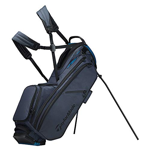 TaylorMade 2019 Flextech Crossover Stand Golf Bag, Titanium Blue