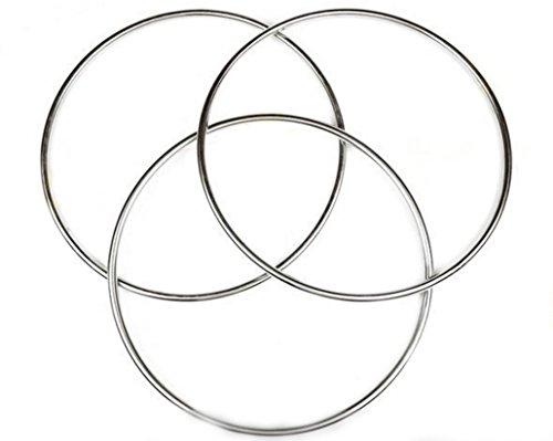 (スマイル)smile 手品 マジック 定番 チャイナリング 30cm 特大 3連 磁力式 知恵の輪