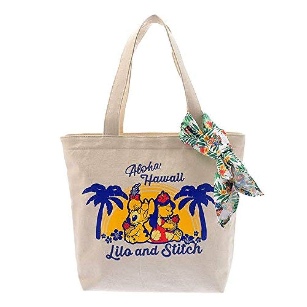 ガイドそれぞれ渦ディズニーストア(公式)トートバッグ リロ&スティッチ Hawaiian Stitch