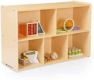 Guidecraft 5-Compartment Storage Shelves 30