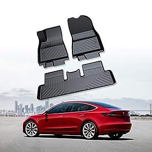XZANTE Couvre-Accoudoir de Console Centrale Automatique Couvre-Accoudoir de Couverture de Console Centrale Mod/èLe 3 Tesla