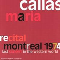 Recital Montreal 1974
