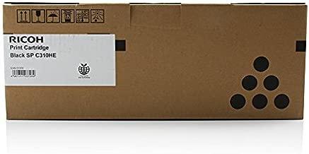 Toner cartridge Original Ricoh 1x Black 406479 / C310HE XXL for Ricoh Aficio SP C 231 n