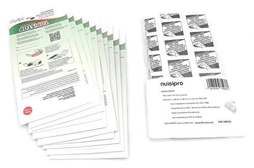 Plaque de glue souris lot de 10 plaque adhésive souris