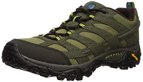 Merrell Men's Moab 2 Vegan Hiking Shoe, Dusty Olive, 11.0 M US