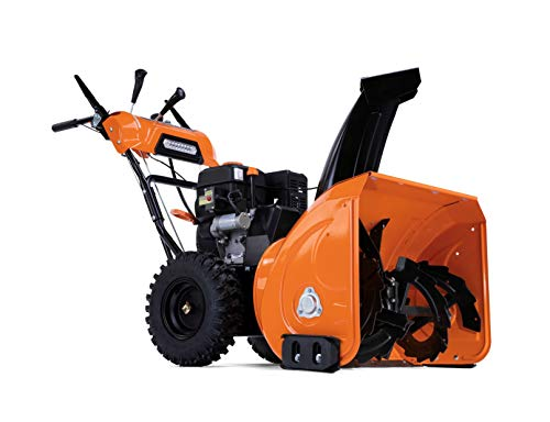 Generac SB13128GENG Snow Blower, Orange and Black