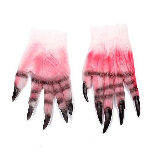COOXX Halloween Make-up Party Props Hele Horror Corpse Bloed Glovecosplay Duivel Lijm Handschoenen