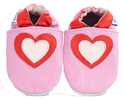 Shoozies , {Chaussures Premiers Pas pour bébé (garçon) Rose 0-6 Mois