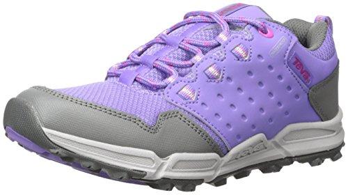 Teva Teva Jungen Mädchen Wit Trekking- & Wanderhalbschuhe, Violett (Purple/Grey- PgyPurple/Grey- Pgy), 19 EU